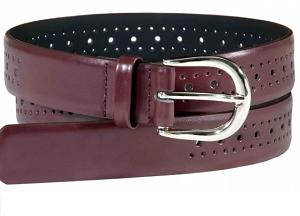 belt maroon