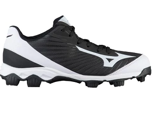 7382ef52ae6 Mizuno 9Spike Advanced Franchise 9 Moulded Cleats   BLACK - Leading Edge  Sport